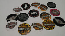 Pre Cut  One Inch Bottle Cap Images!  Motorcycle  FREE SHIP