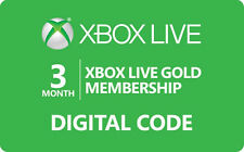 Xbox Live Gold Membership  3 Month / 12 Month - Email Delivery