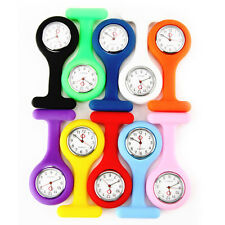 New Fashion Silicone Nurse Doctor Brooch Fob Tunic Watch