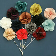 "HANDMADE ""KingKong FLOWER"" Lapel Pin Button Boutonniere /SX"