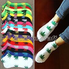 New Men Women Marijuana Weed Leaf Plantlife Ankle Sock Short Sport Cotton Socks