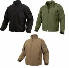 Rothco Light Weight Military Soft Shell Waterproof Covert Casual Uniform Jacket