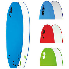 Softech 8'4 Mini Mal Soft Surfboard With Free Fins