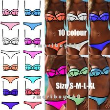 Popular Sexy With Rims Polyester Triangle Bikini Women's Swimwear