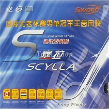 2x Sword SCYLLA Long Pips-Out Table Tennis Top Sheet,OX