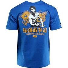 BAIT x Bruce Lee Superior Techniques Tee (blue / royal blue / yellow)