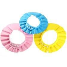 For Toddler   Adjustable  Baby Kids child Children shower cap Waterproof Eye