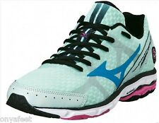 NEW WOMENS MIZUNO WAVE RIDER 17 RUNNING/SNEAKERS/FITNESS/TRAINING/RUNNERS SHOES