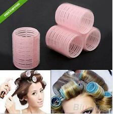 TI AU 6pcs Velcro Rollers Hair Curlers Styling Tool Hairdressing Hair Style DIY