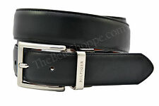 Tommy Hilfiger Reversible Leather Dress Belt - Black/Tan - Size 32 - 44 (NEW)