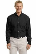 Port Authority® Tall Men's Long Sleeve Twill Dress Shirt #TLS600T