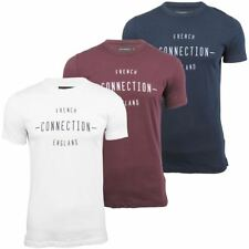 Mens T-Shirt By French Connection/ FCUK 'FC Font' Short Sleeved