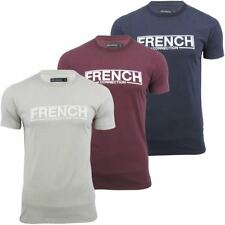Mens T-Shirt By French Connection/ FCUK 'FC Stamp' Short Sleeved
