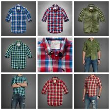 NEW Abercrombie & Fitch Men's Kempshall Mountian Classic Shirt Plaid / Check $68