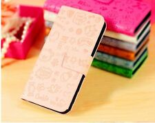 magic girl witch fancy PU Leather Pouch Cover Flip Case For MOBILE PHONES 1