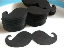 50PCS Party Paper Moustache Wedding Decoration Fiesta Party Birthday Baby Shower