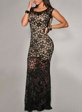 Two-tone Sexy Lady Lined Mermaid Prom Long Lace Evening Dress Vestidos De Fiesta