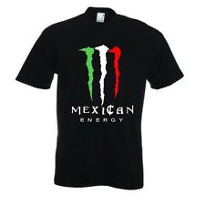 Mexican Energy T Shirt spoof Drink Mexico
