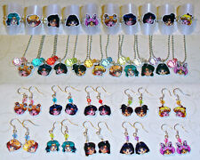 Cute Sailor Moon Jewelry NECKLACE EARRINGS RING - Inners & Outers - anime manga