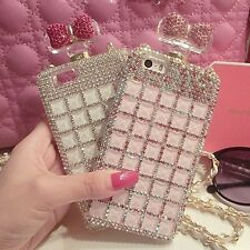 Butterfly Fashion Style Bling Diamond Gem Case Cover Skin For iphone/Samsung