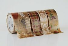 MT FAB Summer 2014 Wax Paper Washi Masking Tape (3 meters Baking Bakery Flower)