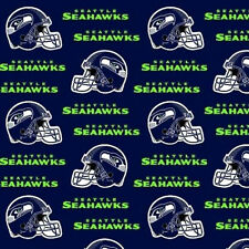 NFL Cotton Fabric Remnant Pieces from the End of Bolts! Prices differ per piece!