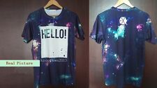 EXO Japan FM Concert LUHAN  [Hello] Starry Sky Tee EXO Greeting Party T Shirt