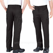 Dickies Work Pants Mens Relaxed Fit Cargo Pockets EMT Pant 2112377 Black, Blue
