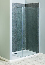 Walk In Shower Wet Room Panels 8mm Glass Screen Cubicle Enclosure