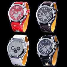 New Young Boys' Girls' Teenagers Sports Leatheriod Band Quartz Wrist Watches