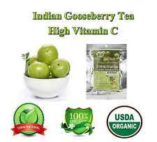 Indian Gooseberry Tea Premium Organic Teabags Detox Cleanse & Flushes Out Toxins