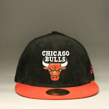 RRP £28 New Era 'Team Cord' Chicago Bulls 59Fifty Cap - Black/Red *SAVE £13