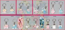 Baby Shower Metal Key Chains Party Favor Gifts Box Souvenirs Keepsake Boy Girl