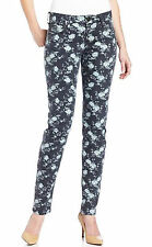 KUT from the Kloth Diana Floral Print Womens Skinny Jeans in Gray Size 2,6,8 NEW