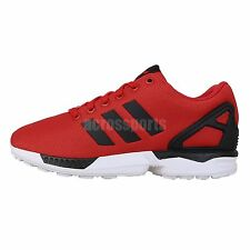 aa66bf930 Adidas Originals ZX Flux Red Black Torsion 2014 Mens Running Casual Shoes