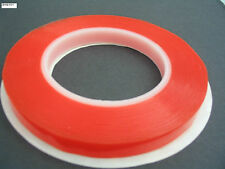 HI TACK RED DOUBLE SIDED SELF ADHESIVE TAPE, HUGE 25M PERMENANT ULTRA STICKY