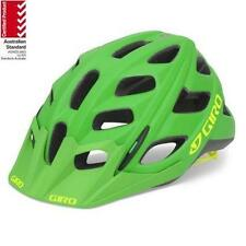 GIRO HEX MTB Riding Cycling Helmet Bicycle AUSSIE Bike STANDARD Green/Yellow