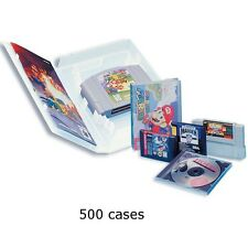 Universal Game Cases - 500 cases for Super Nintendo Nintendo 64, Genesis, PS1