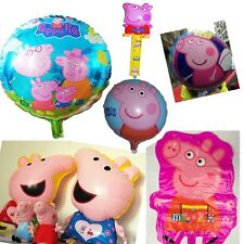 Kinds Peppa Pig Aluminum Balloons Wedding Birthday Party Decorcation Kids Gift