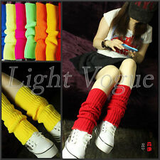 Ladies' Knit Crochet Warmth Knee Leg Warmer Leggings Womens' Ankle Socks TW18