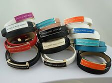 New MARC BY M JACOBS Multicolored Enamel Bi-leather Bracelet 12 colors available