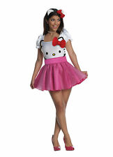 Adult Hello Kitty Tutu Dress Costume Rubies 889962