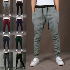 Casual Mens Jogger Dance Sportwear Baggy Harem Pants Slacks Trousers Sweatpants