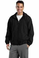 Sport-Tek Men's Hooded Raglan Jacket #JST73