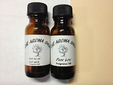 AROMATHERAPY 1/2oz FRAGRANCE OILS FOR OIL BURNER DIFFUSERS, AROMA LAMPS 15ML