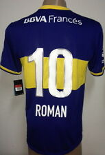 NEW!!! 2013/14 ORIGINAL BOCA JUNIORS HOME SOCCER JERSEY ROMAN RIQUELME #10