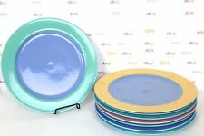 DINNER PLATES Large Choice of 8 Colorways Lindt Stymeist Turquoise Green Yellow