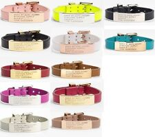 New MARC BY M JACOBS Letters Multicolored Leather Bracelet 11 colors available