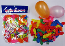 LOT OF 300,600,1200 PCS---NEW MIXED WATER BALLONS WATER BOMBS KID PARTY--BL100