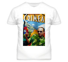 Vladimir Putin Greetings From Crimea Moscow Russian Political T Shirt